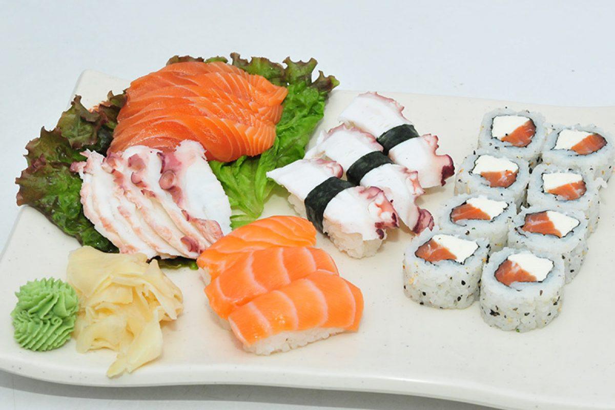 Sushi – além de muito saboroso, é também fonte de nutrientes
