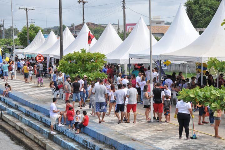 Encontro de Amigos de Piçarras reuniu mais de 1.500 pessoas na Beira Rio