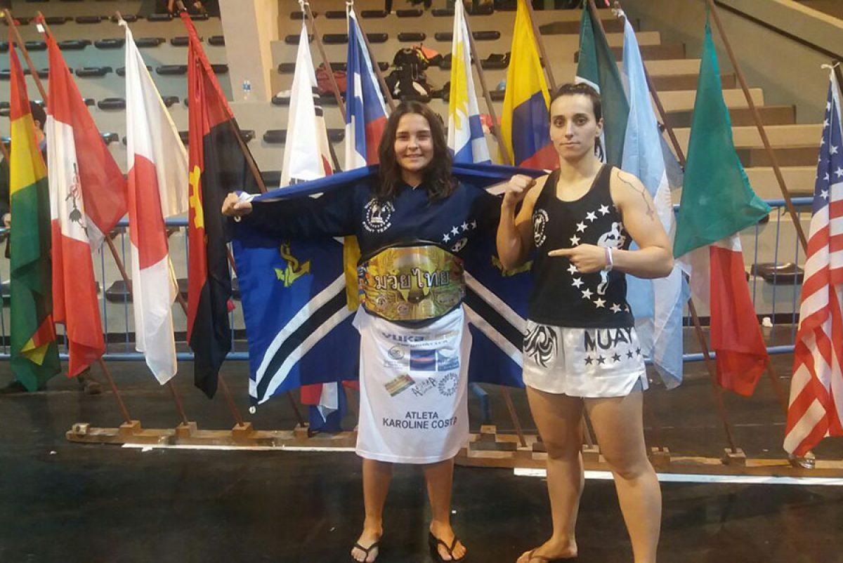 Aluna da Escola de Muay Thai é campeã mundial sub-15 na Argentina