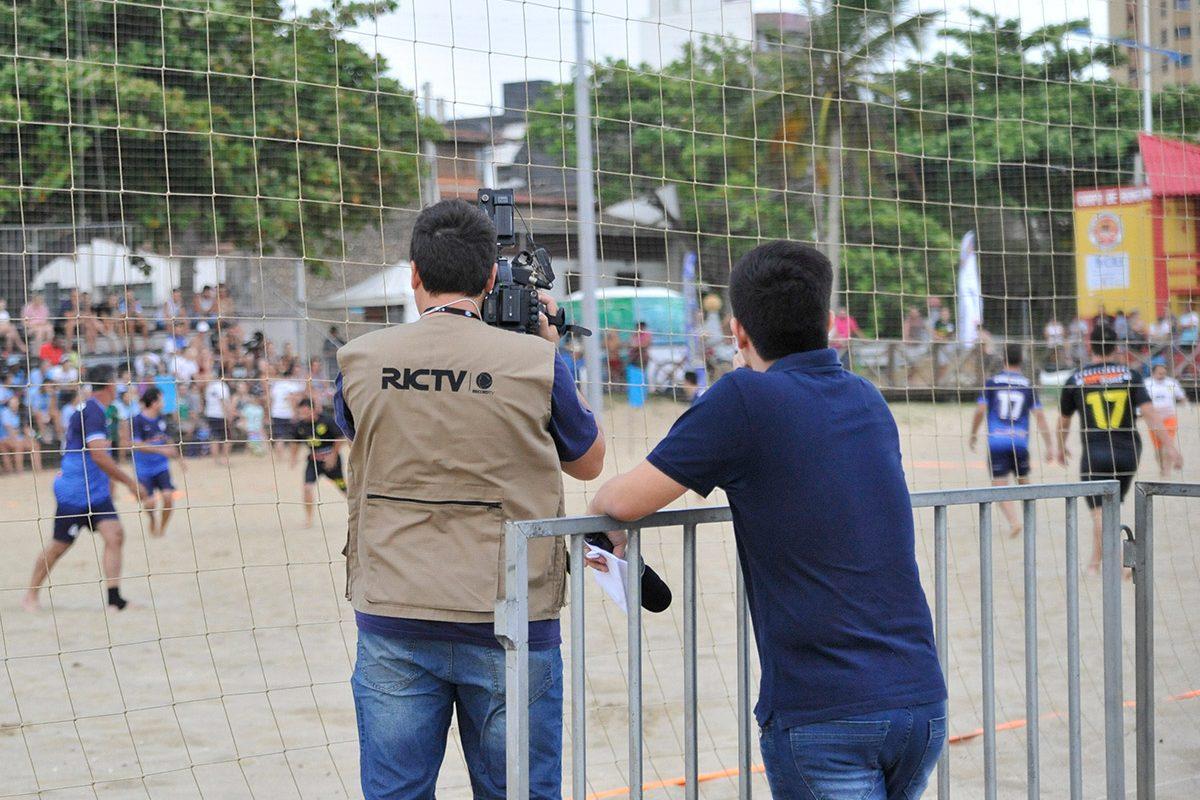 Abertura Taça RicTV Record de Futebol de Areia (Piçarras)