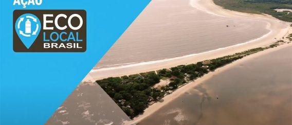 Ação ONG Eco Local Brasil – Ilha do Mel (PR) – Ponta Oeste