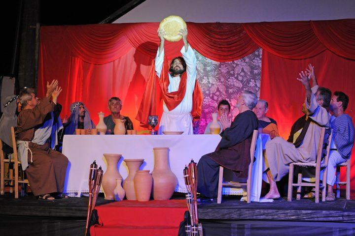 Balneário Piçarras terá encenação da Paixão de Cristo na Sexta-feira Santa