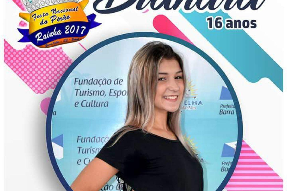 Barra Velha – Candidatas da 21ª Festa Nacional do Pirão
