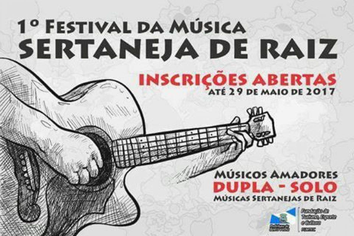Barra Velha promove 1º Festival de Música Sertaneja de Raiz