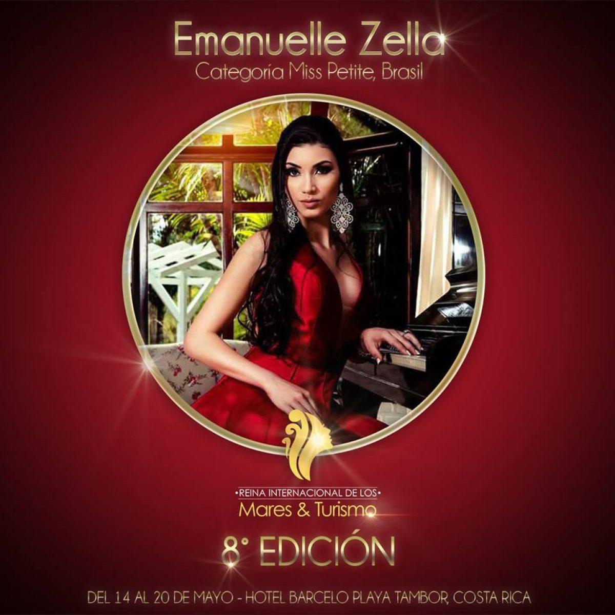 Beleza – Barra Velha (SC) está sendo muito bem representada pela lindíssima Emanuelle Zella em concurso internacional