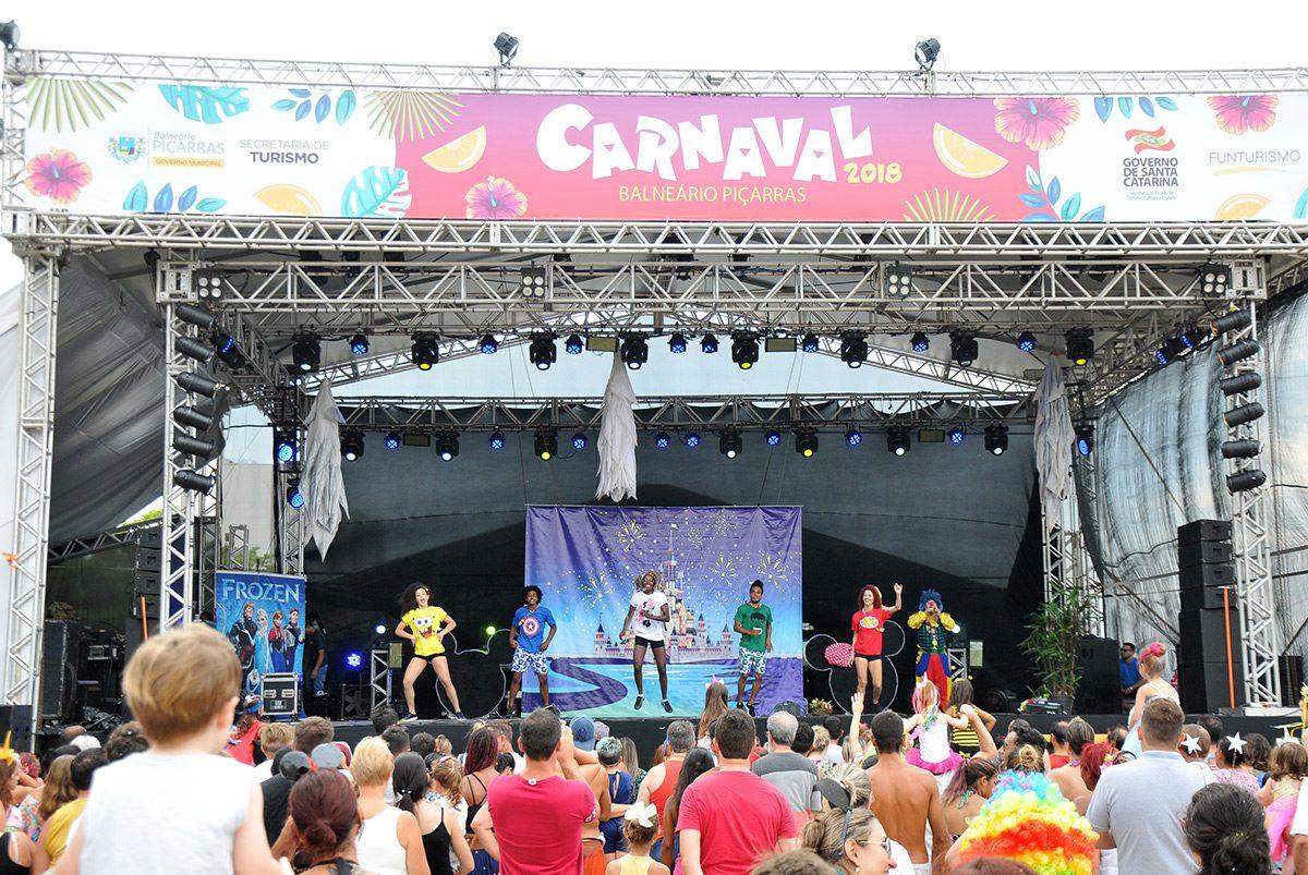 Carnaval 2018 Piçarras – infantil (domingo)