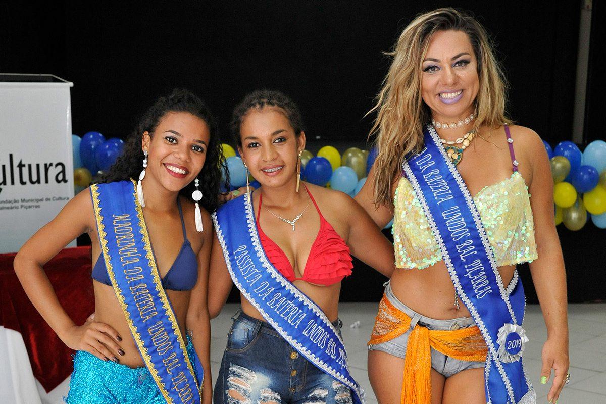 Carnaval 2019 Piçarras – Musa, Madrinha e Passista