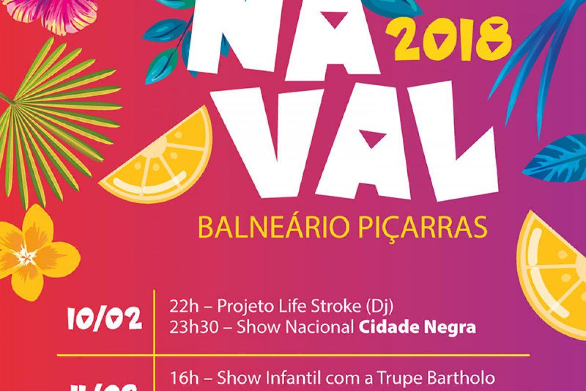 Cidade Negra e Maskavo marcam o carnaval 2018 de Balneário Piçarras