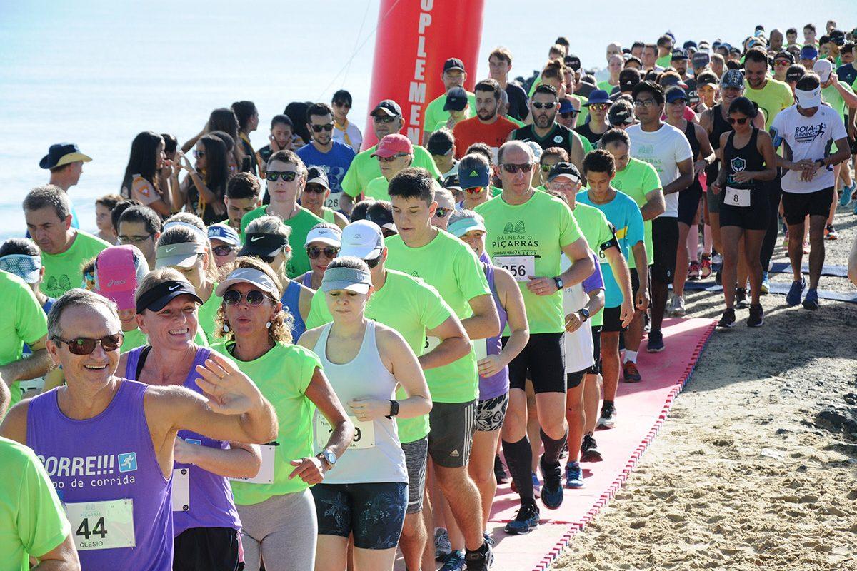 Corrida de verão 7 km (Piçarras)