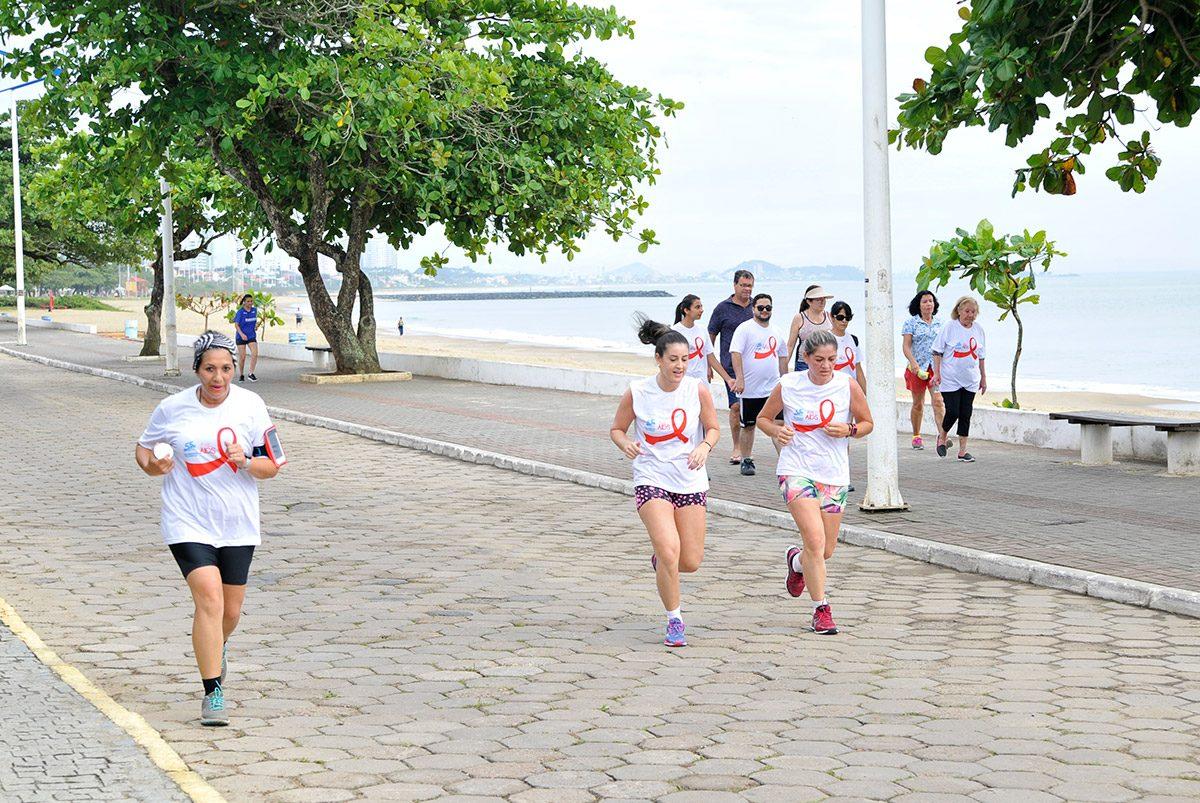 """Corrida e Caminhada """"Na Luta Contra AIDS"""" (Piçarras)"""
