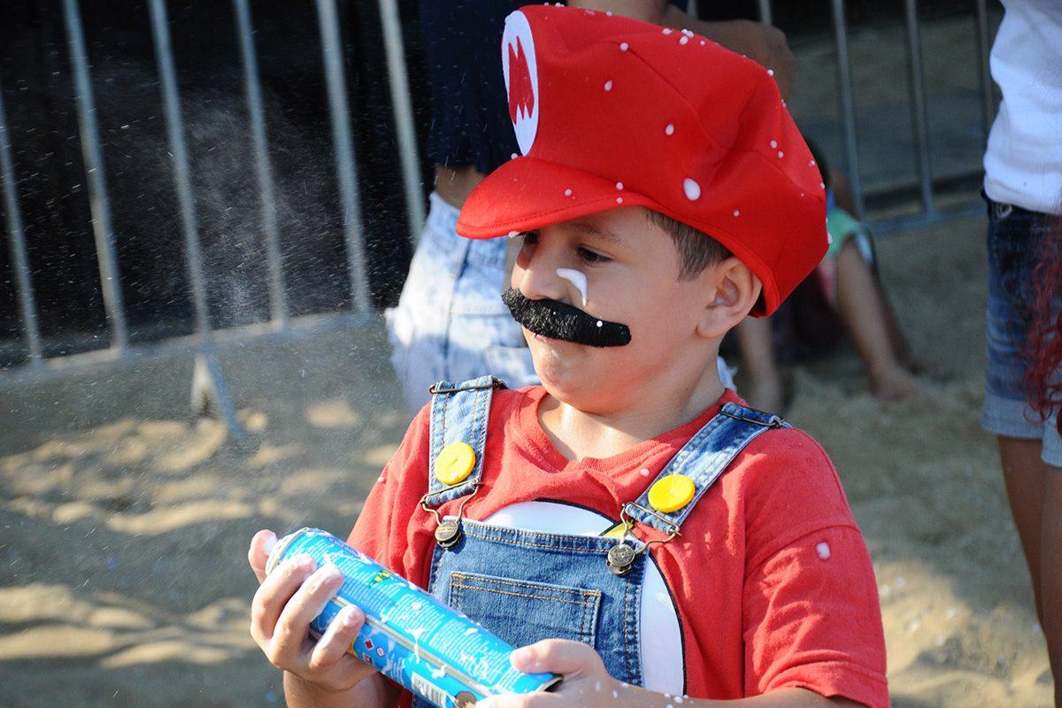 Criança folia – Carnaval Piçarras