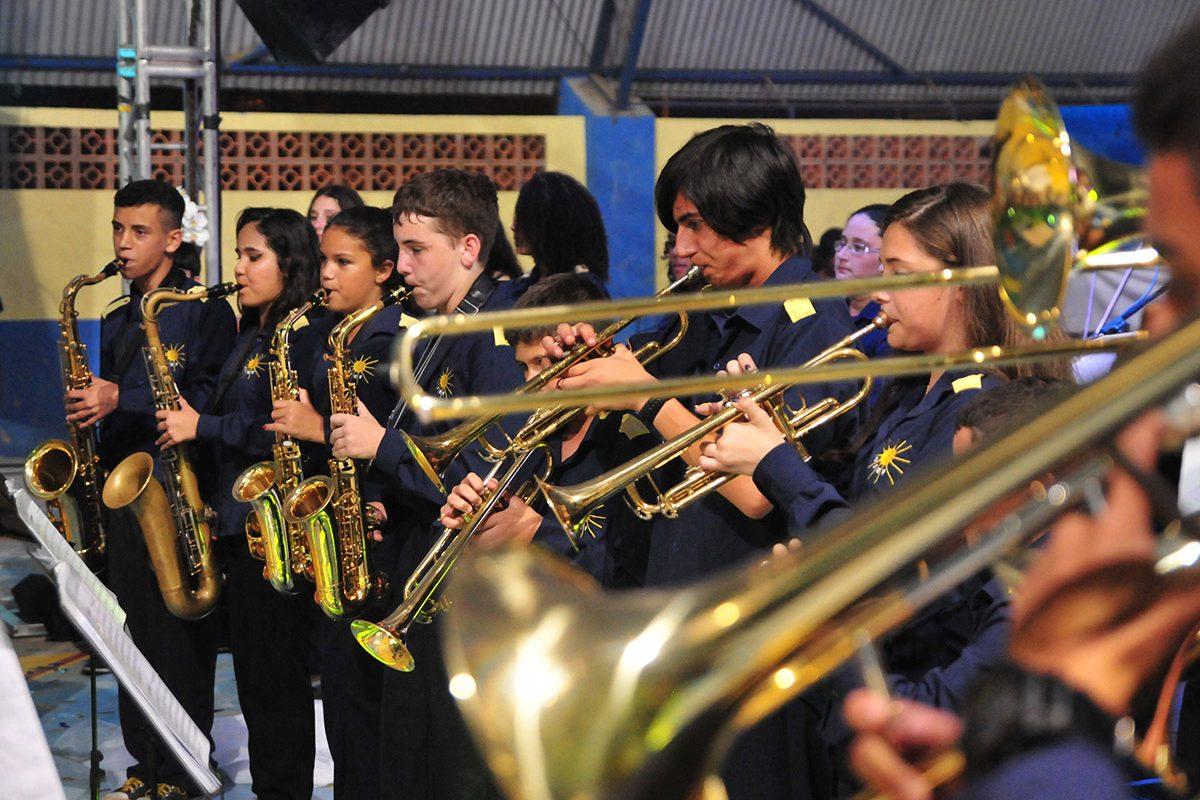 """""""Cultura na Praça"""" reunirá cerca de 230 músicos neste domingo (17/09)"""