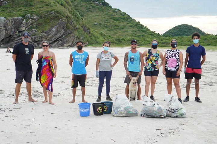 Eco Local Brasil – ação na Ilha do Mel (Mar de Fora)