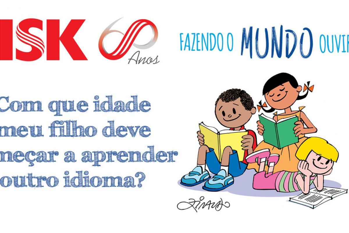 Educação – Com que idade meu filho deve começar a aprender outro idioma?