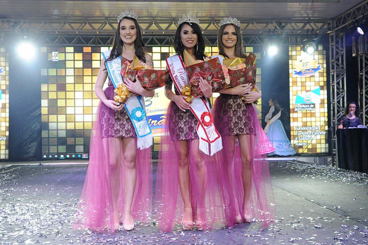 Escolha da Rainha e Princesas da 23ª Festa Nacional do Pirão (Barra Velha)
