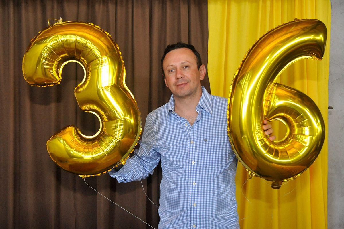 Feijoada de aniversário do Daniel (Barra Velha)
