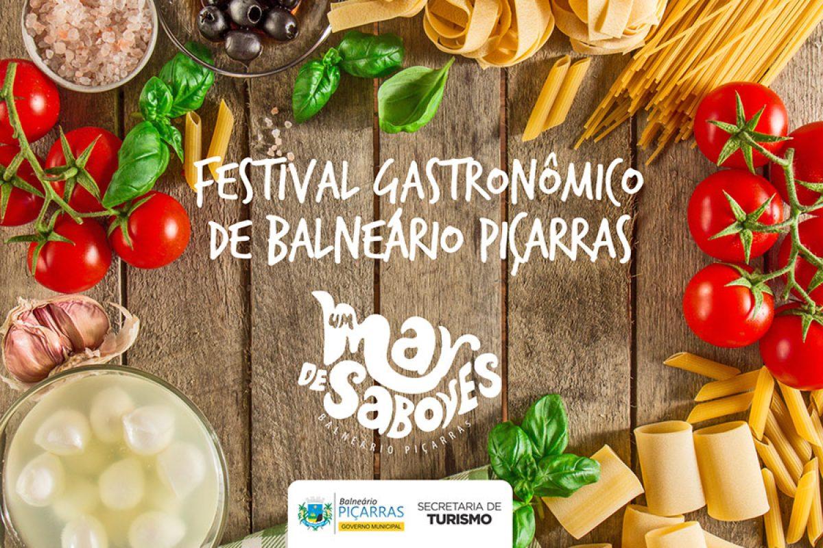 """Piçarras – Confira os participantes do Festival Gastronômico """"Um Mar de Sabores"""""""