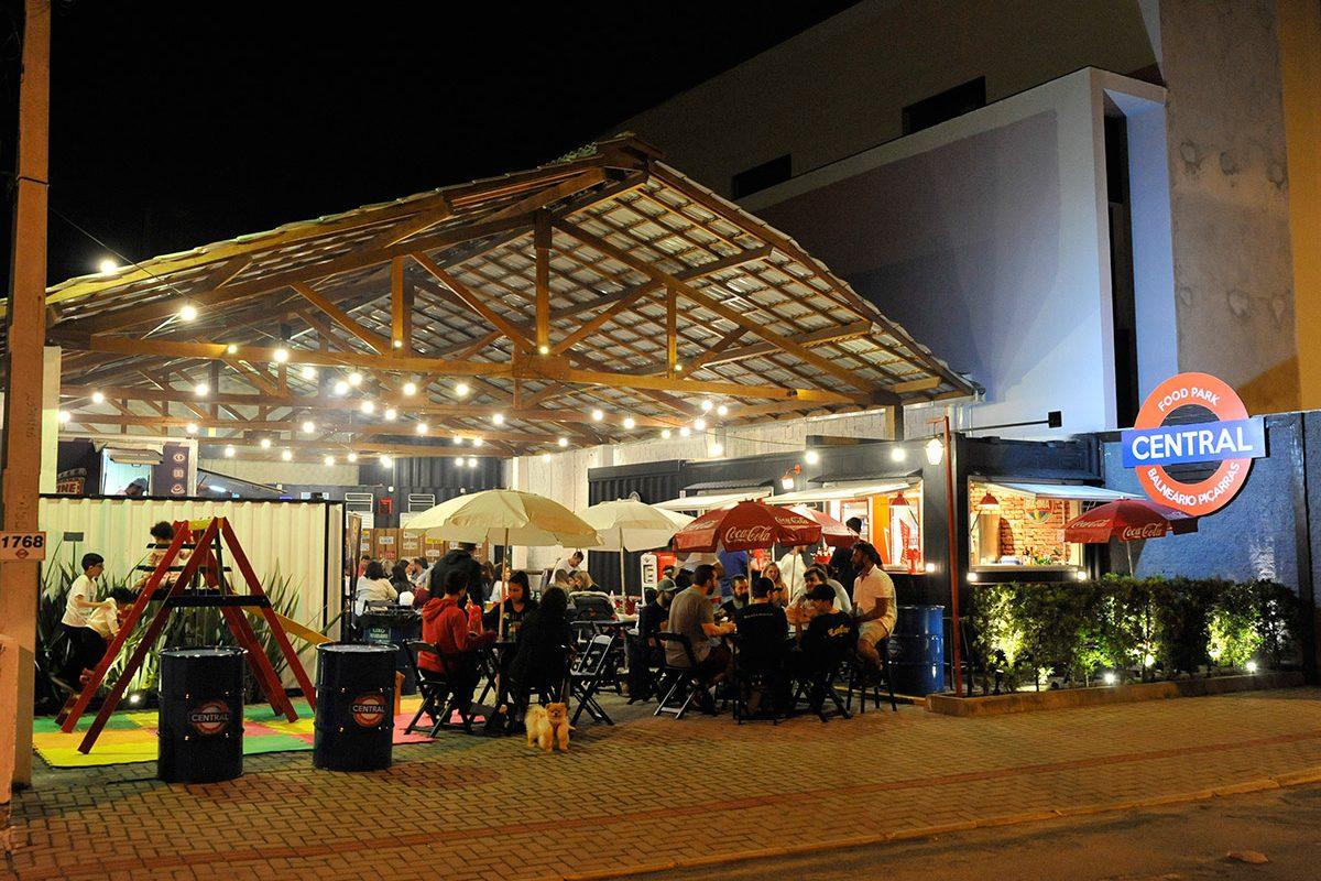 Food Park Central – reabertura (Piçarras)