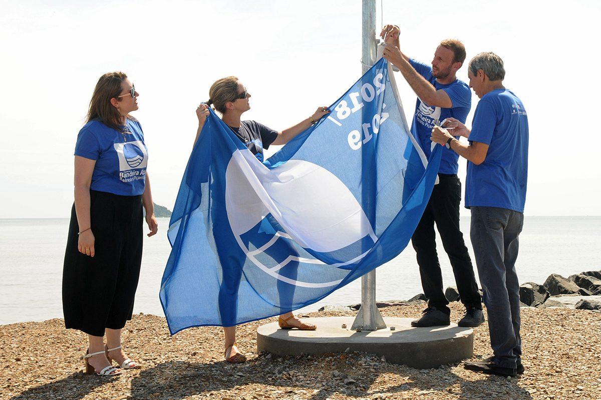 Hasteamento da Bandeira Azul (Piçarras)
