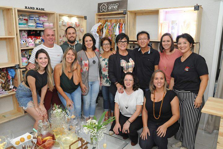 Inauguração da loja colaborativa Cá Entre Nós (Piçarras)