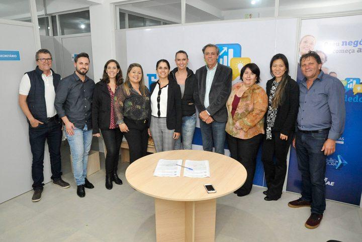 Inauguração da sala do empreendedor – SEBRAE (Piçarras)