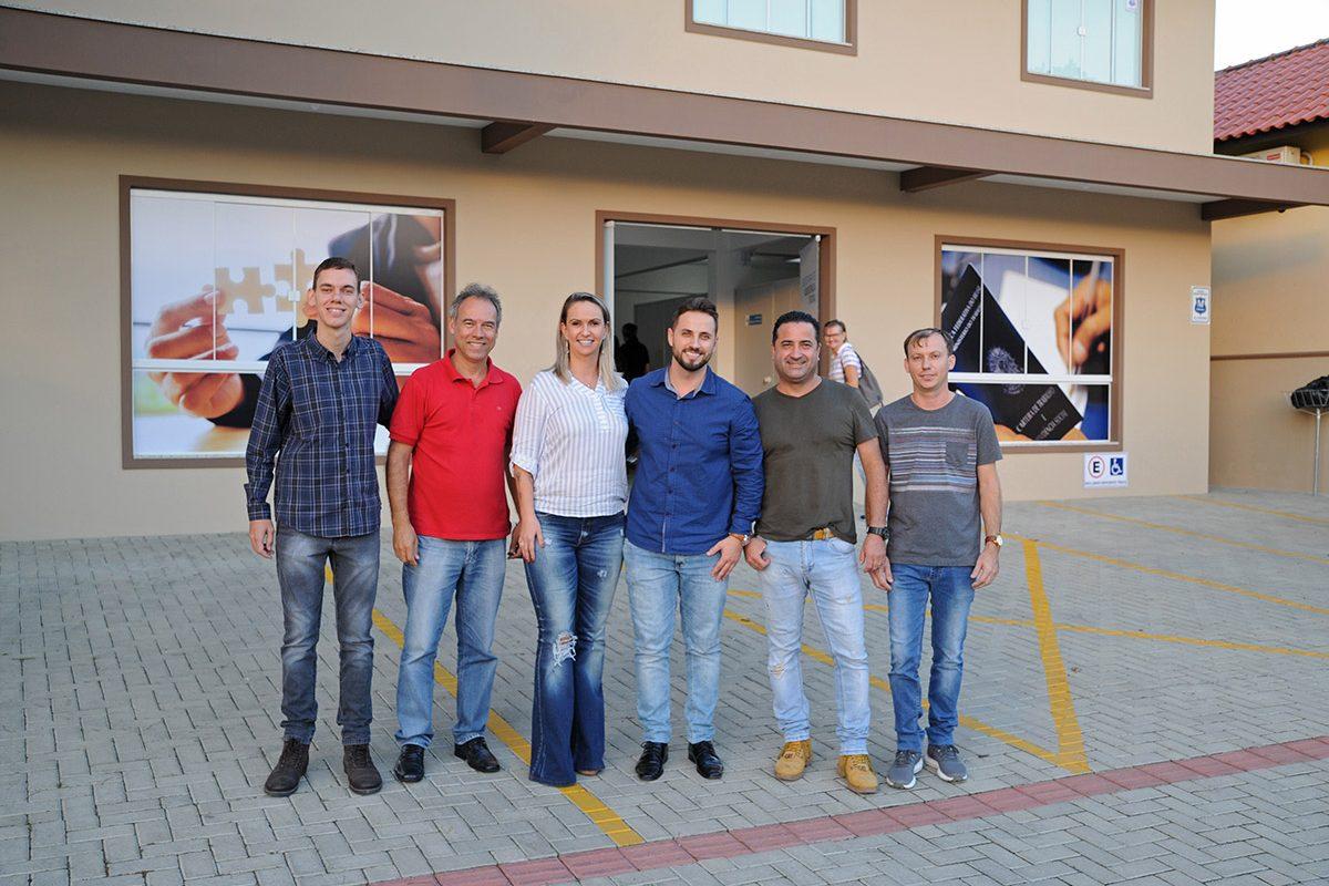 Inauguração da Secretaria de Assistência Social de Piçarras