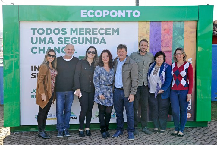 Inauguração do Ecoponto e Campanha Oceano Sem Plástico (Piçarras)