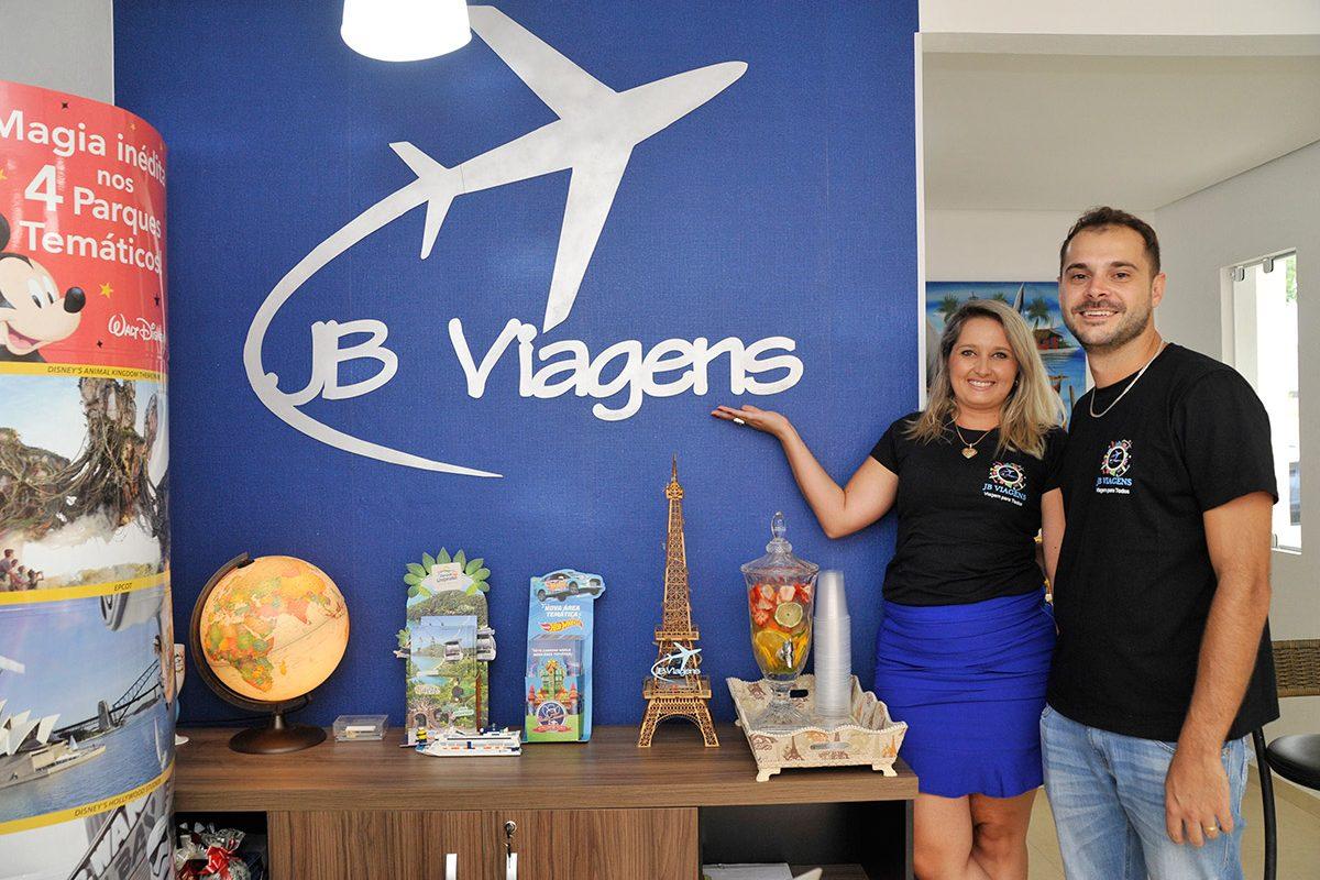 JB Viagens – coquetel de 2 anos e reinauguração (Piçarras)
