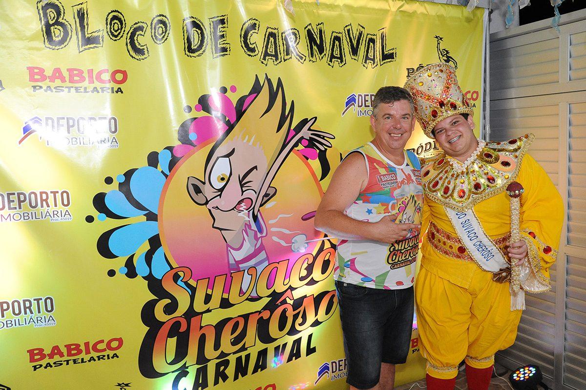 Lançamento do bloco de carnaval Suvaco Cherôso (Barra Velha)