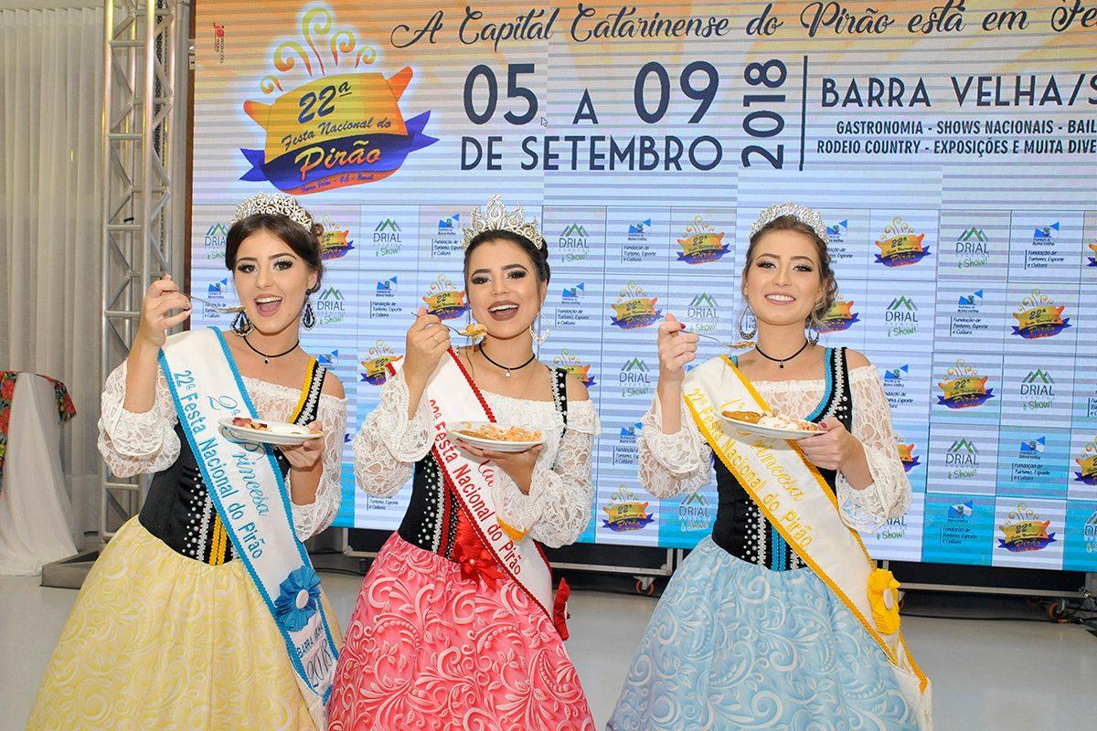 Lançamento oficial da 22ª Festa Nacional do Pirão (Barra Velha)