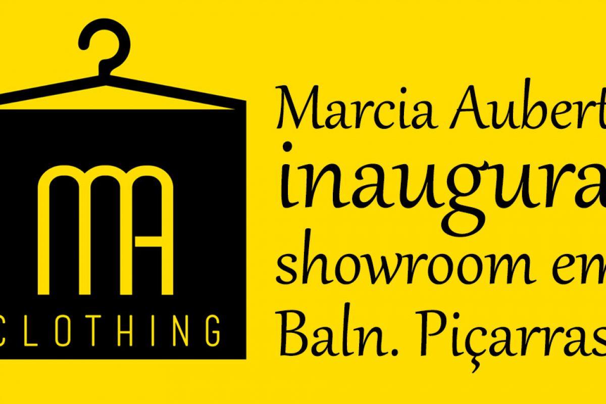 Márcia Aubert inaugura show room em Balneário Piçarras