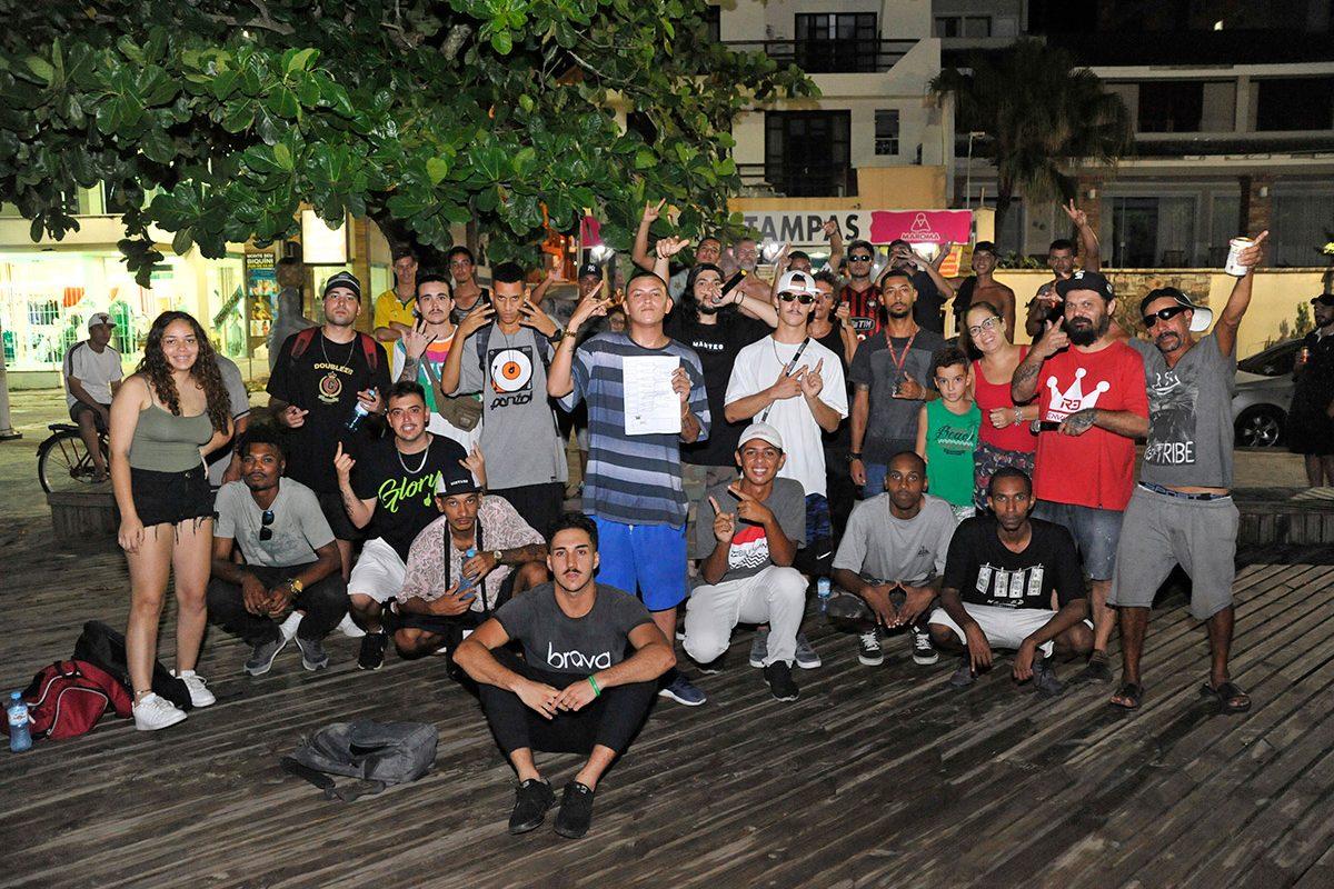 Movimento cultural Hip Hop (Piçarras)