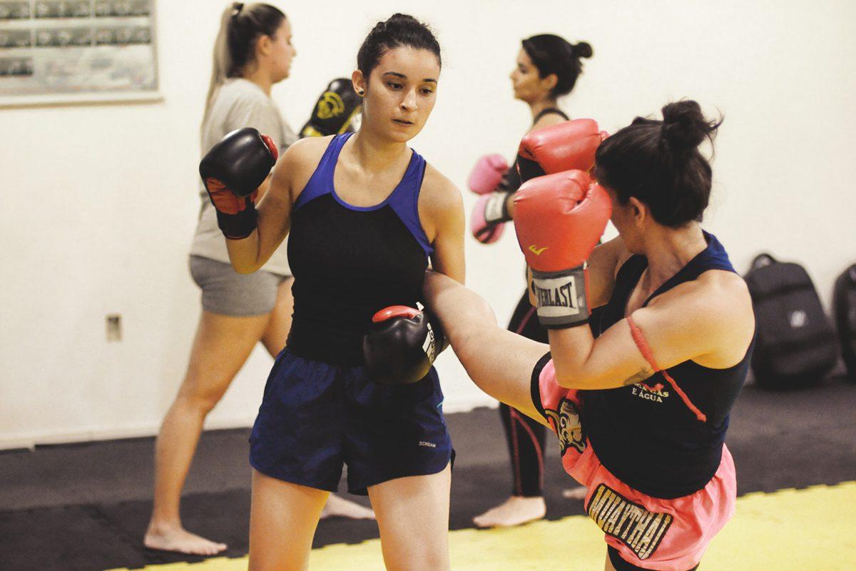 Muay Thai para mulheres
