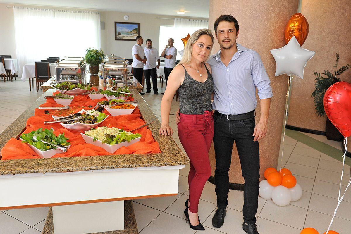 Na Brasa Filé & Cia – inauguração (Piçarras)