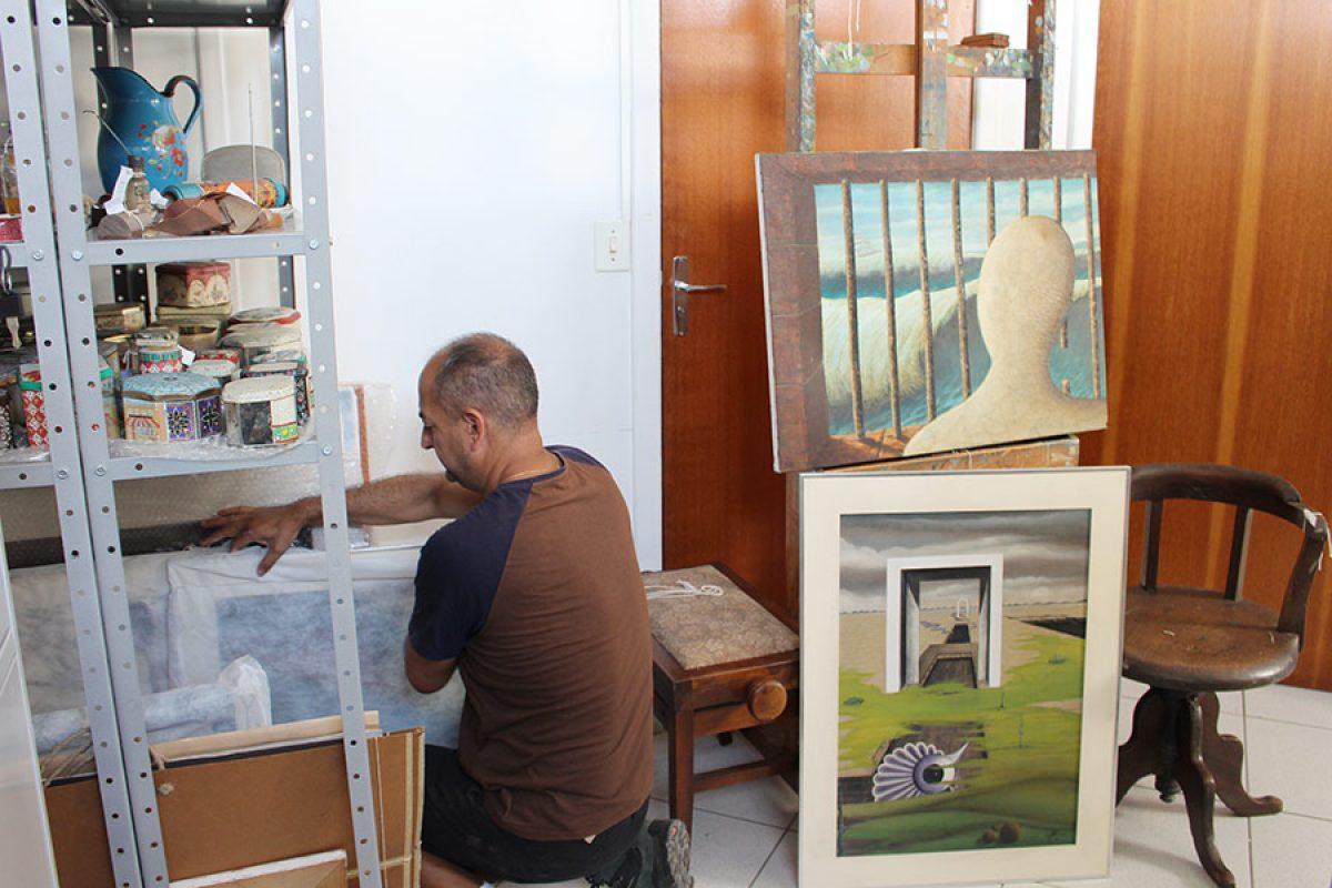 """Piçarras – Fundação Cultural organiza exposição """"A Arte de Luiz Telles"""""""