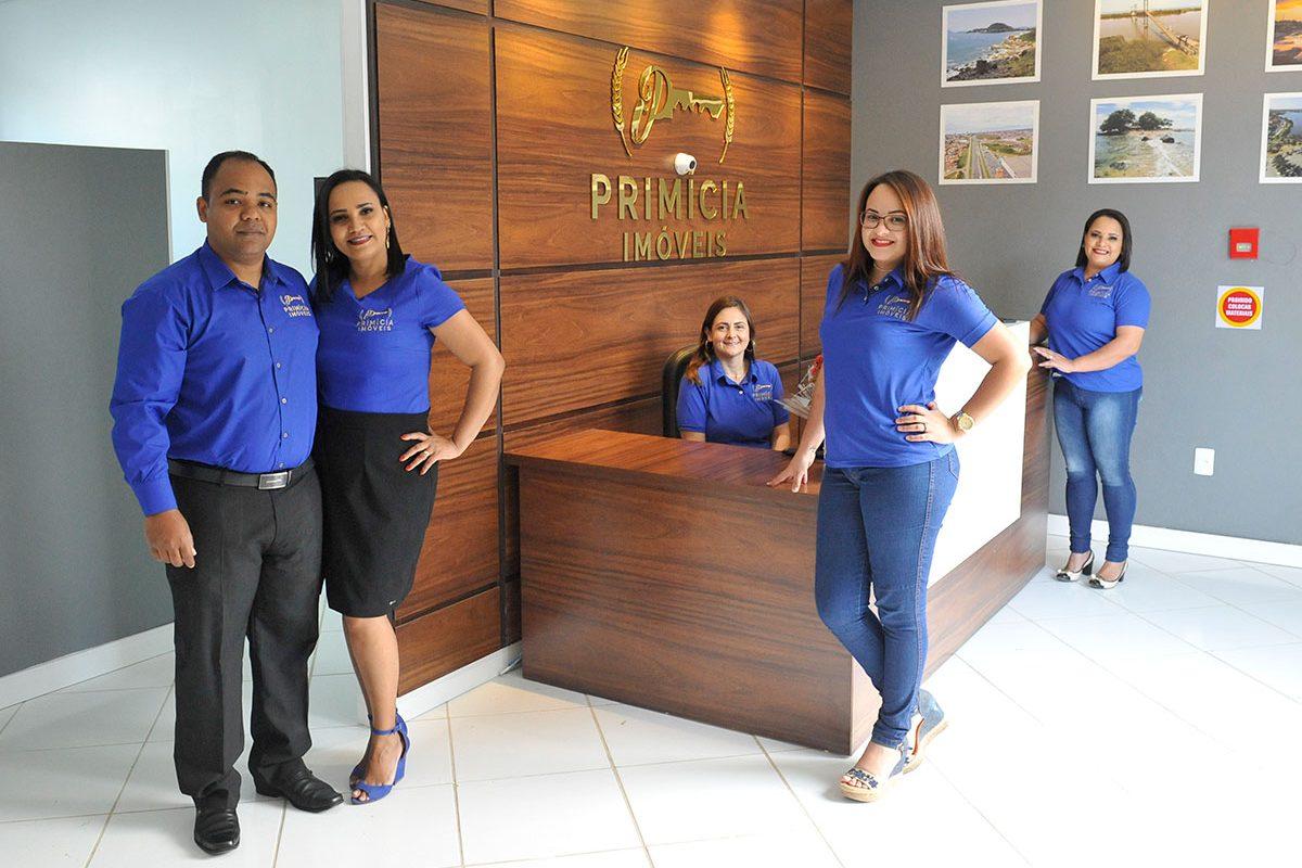 Primícia Imóveis – inauguração (Barra Velha)