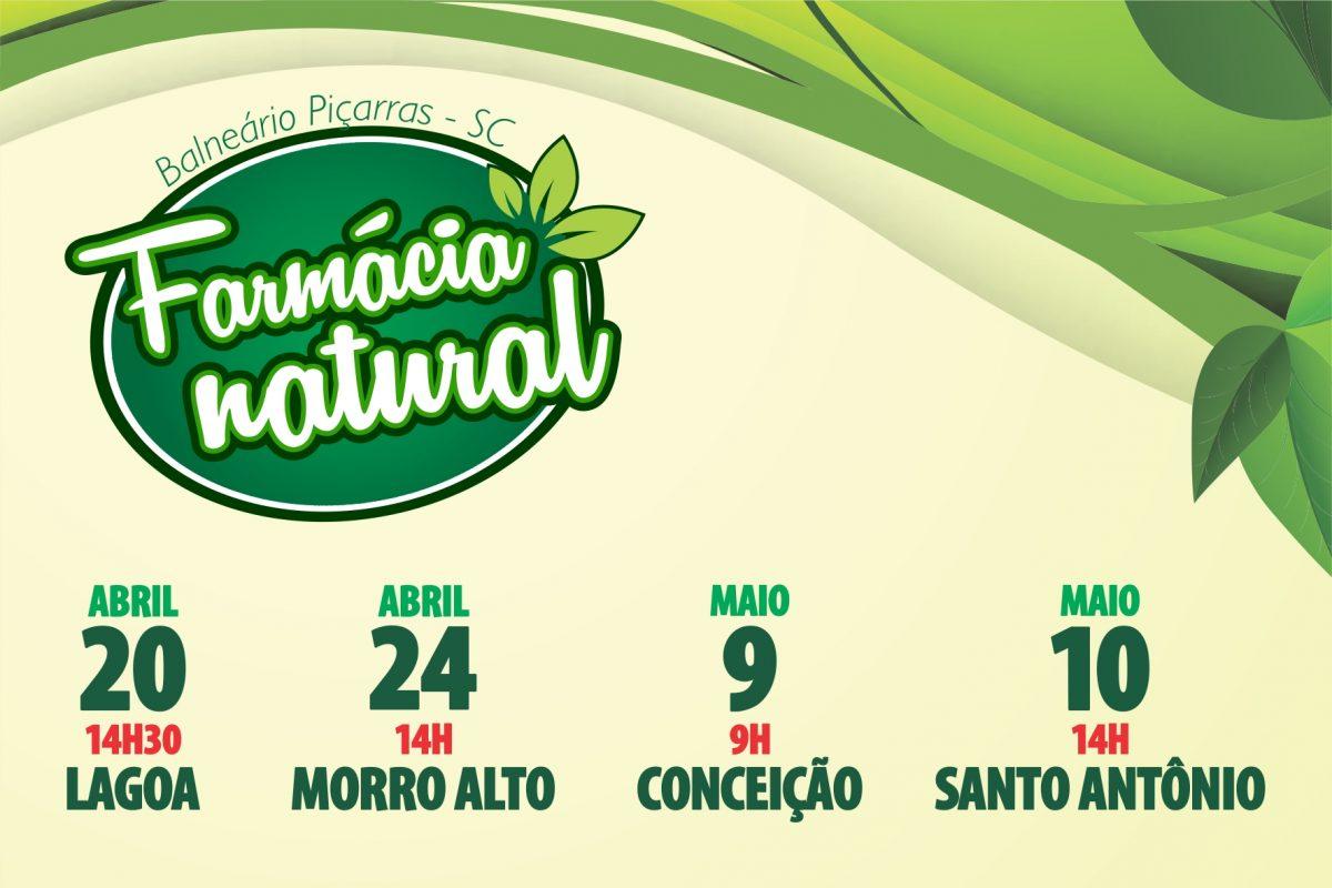 Projeto Farmácia Natural inicia atividades em quatro Unidades Básicas de Saúde (Piçarras)