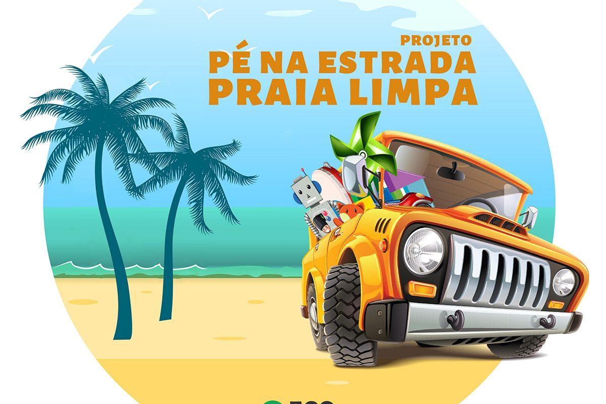 Projeto Pé na Estrada Praia Limpa 2020 – ONG Eco Local Brasil