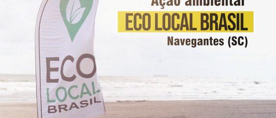 Projeto Praia Limpa – ação de limpeza de praias – Navegantes (SC)