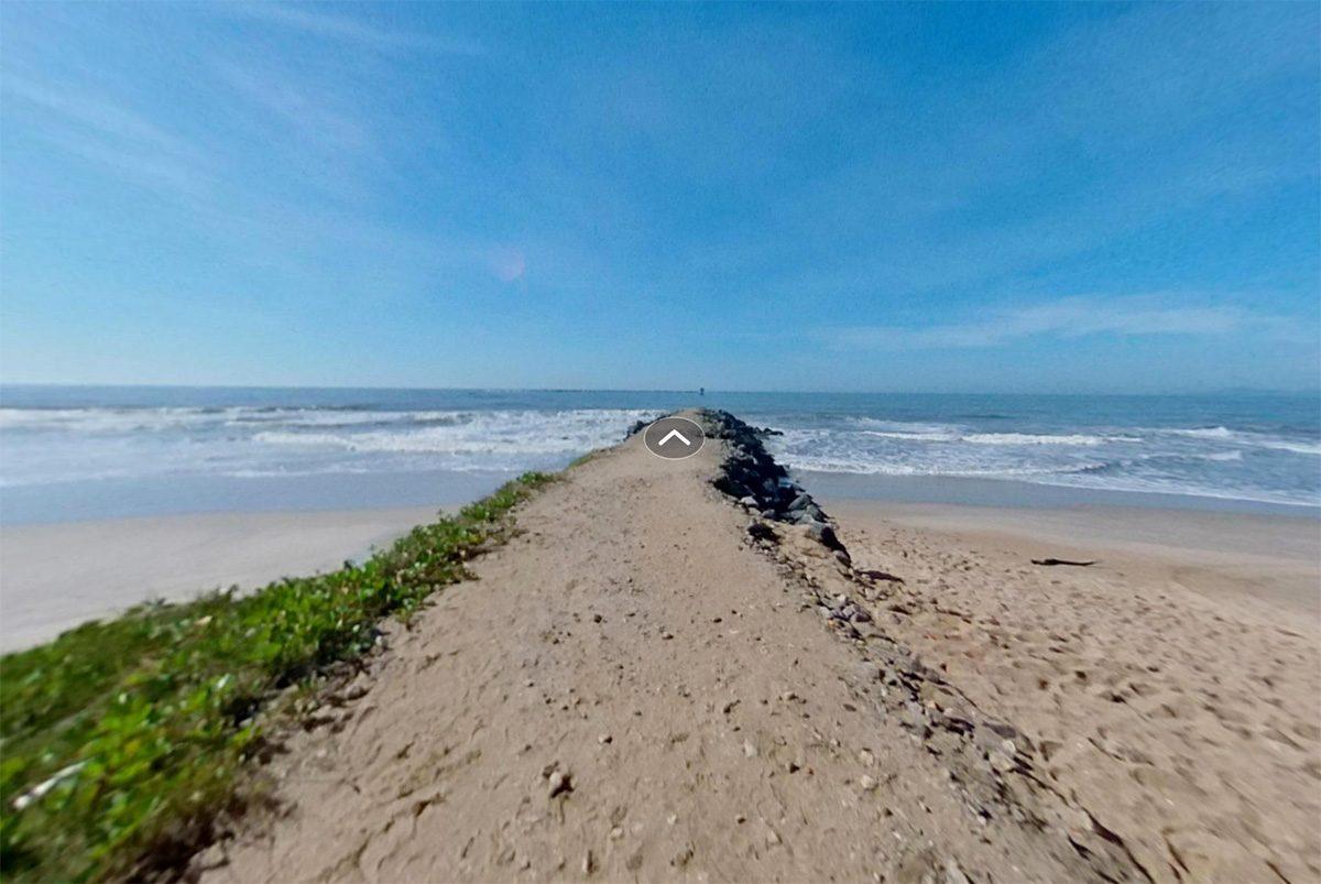 Molhe da praia central