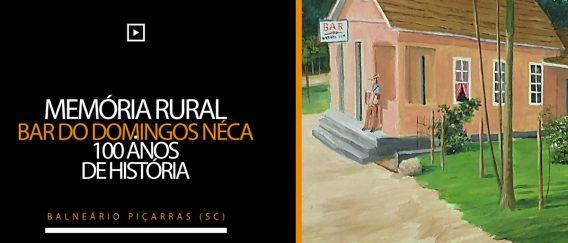 Bar do Domingos Néca – Memória Rural – 100 anos de história – Balneário Piçarras (SC)