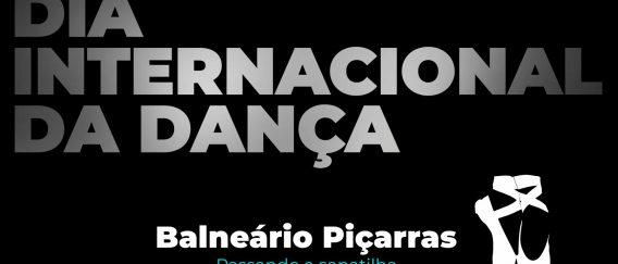Homenagem ao dia internacional da dança – Passando a sapatilha – Balneário Piçarras (SC)