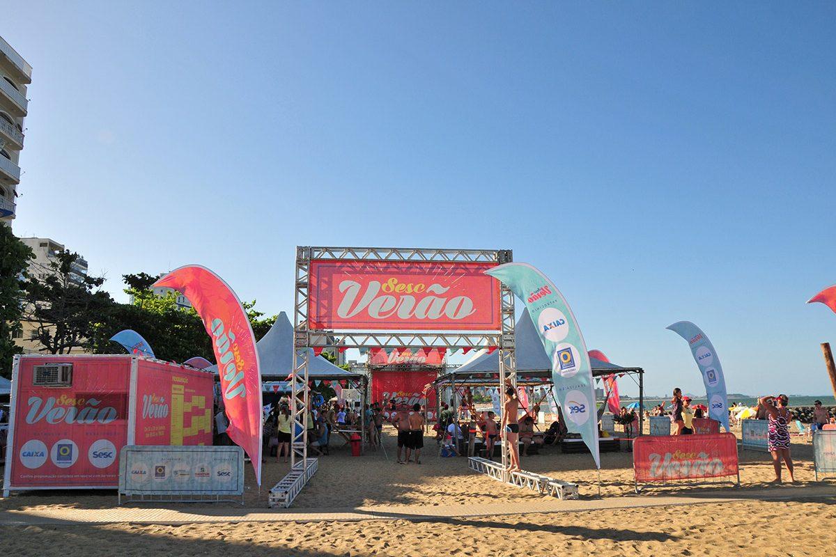 Sesc Verão inicia as atividades em Balneário Piçarras nesta sexta-feira (12)