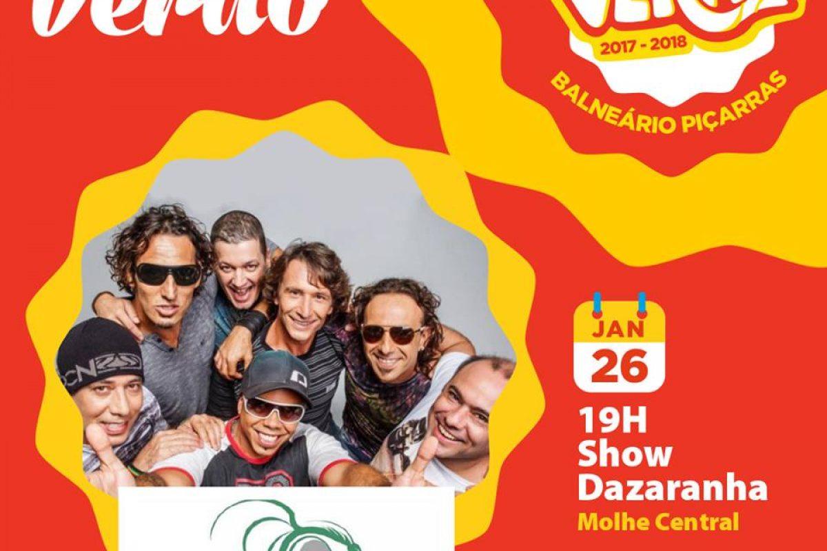 Show nacional – DAZARANHA (Piçarras)