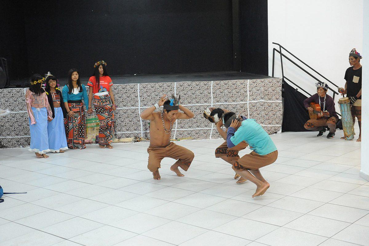 Tribo indígena Guarani (Piçarras)