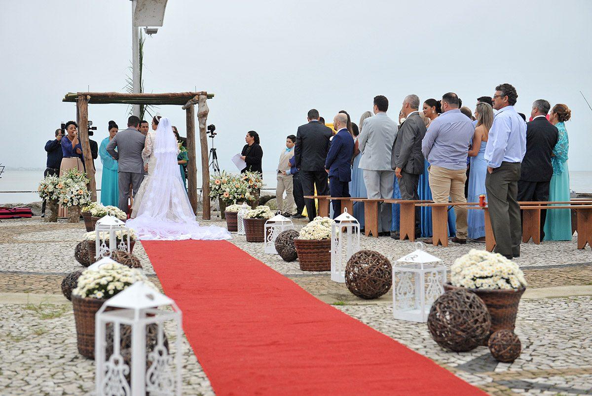 Valeria e Paulo – casamento beneficente (Piçarras)